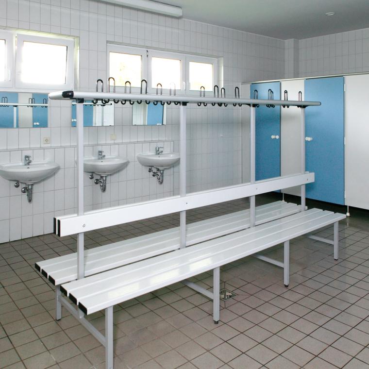 Unsere sanitären Anlagen - 2. Innenansicht