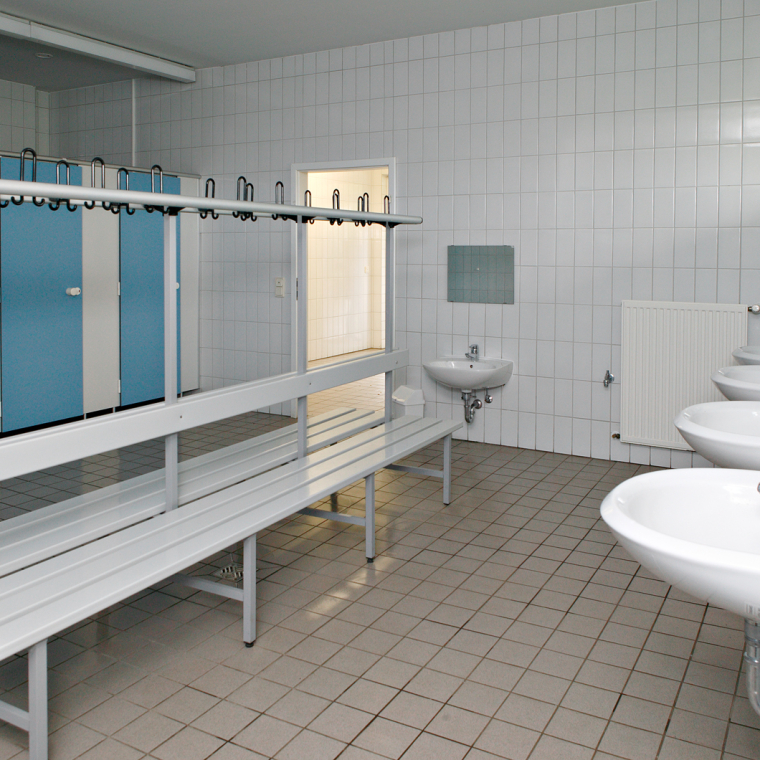 Unsere sanitären Anlagen - 1. Innenansicht