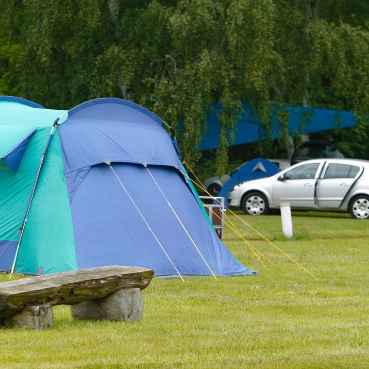 Zelte aller Größen sind Willkommen
