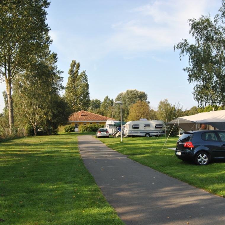 Stellplätze im Randbereich des OstseeCamp Dierhagen