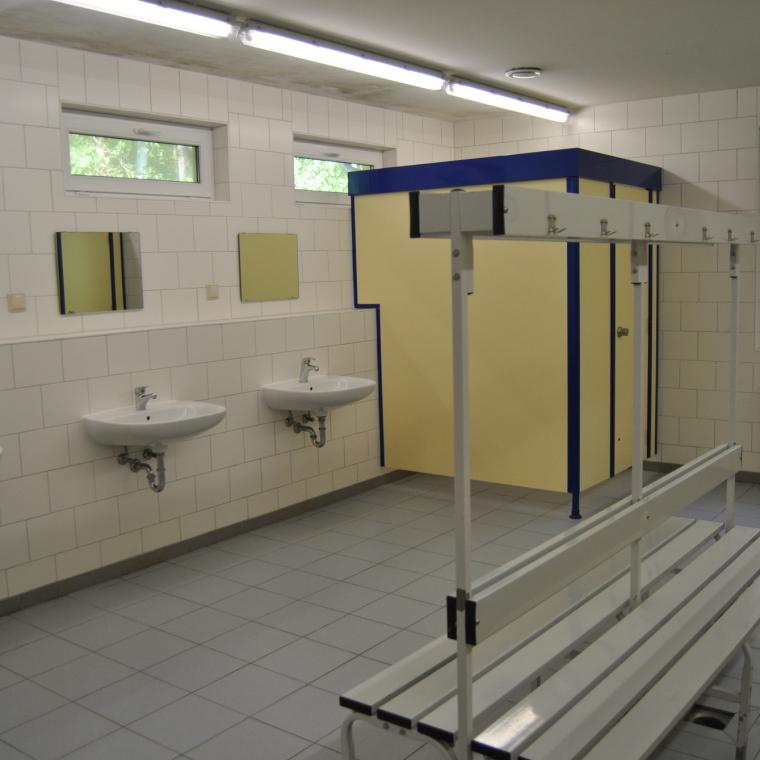 Innenansicht Duschraum Waschhaus 1