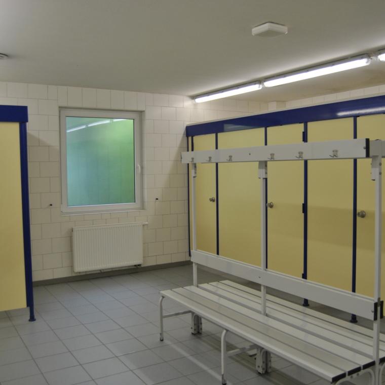 Duschkabinen im Waschhaus 1